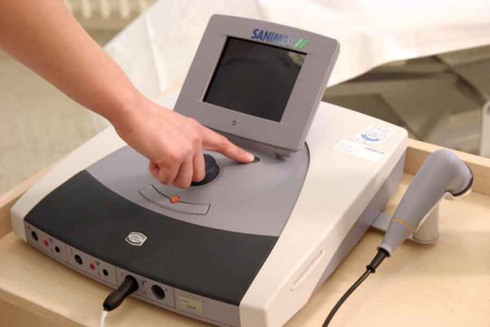 Elektrotherapie Schmerztherapie